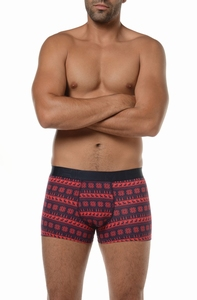 Hom sale Origins boxer briefs hip in navy rood maat L