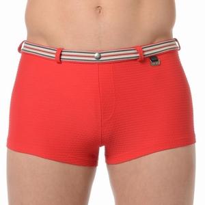 HOM sale swim shorts Casino red zwemshort maat L