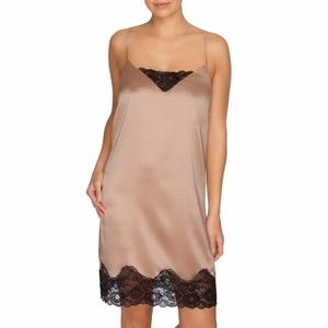 Prima Donna By Night zijden jurkje zonder cups, cream black