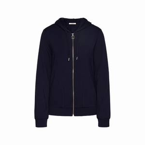 Cyell jacket long sleeve dark navy smooth jersey