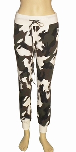 Sensi Wear sale, camouflage sweatpants offwhite maat L