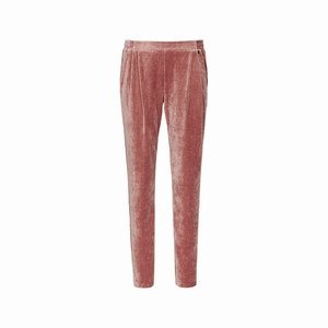 Cyell homewear fluwelen velours old rose broek maat 42