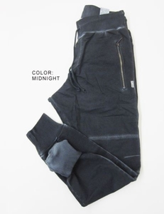 Blue Pepper jogg pants oildye wash vrouw&man midnight blue