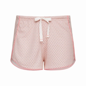 Cyell shorts take it easy tropical pink losvallende shorts