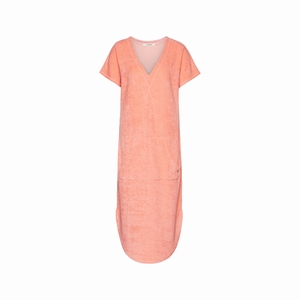 Cyell sale dress short sleeve bright salmon teddy touch