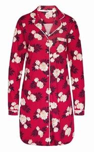 Cyell sale 50% nachthemd lange mouw fleur rouge 40 en 44