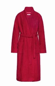 Cyell sale 50% zachte badjas terry velours scarlet warm
