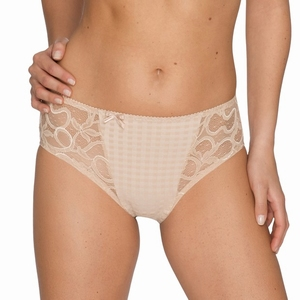 Madison Prima Donna, tailleslip met kant in caffe latte