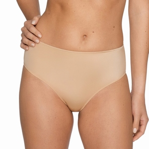 Prima Donna lingerie Satin tailleslip / short in cognac