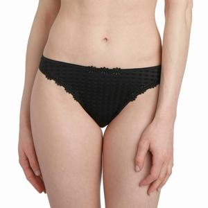 Marie Jo Avero lingerie, mooie string bloem in zwart