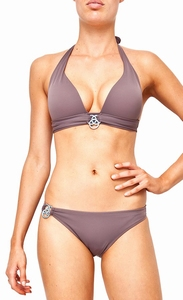 Sedna sale Sakari padded push up bikini, Earth C cup C    xl