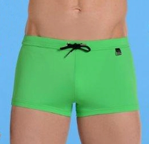 Hom sale marine chic swim shorts, zwemshort in groen maat L