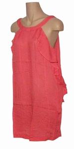 Reyberg sale Lisa dress roesel strandjurk coral maat S en L