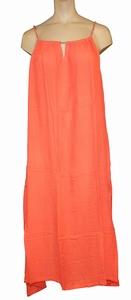 Reyberg sale dress Jackie strandjurk big maxi coral maat 46