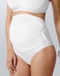 Anita, babybelt: perfecte ondersteuning voor de buik in wit