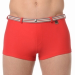 HOM sale swim shorts Casino red zwemshort maat L