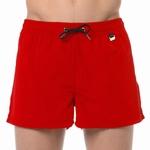 HOM sale beach shorts marina red wijde zwemshort rood maat L