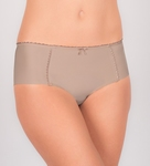 Felina Rhapsody bijpassende shorty in light taupe