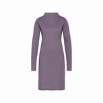 Cyell homewear dress doubleface stripe plum maat 42