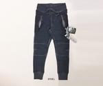 Bleu Pepper jogg pants oildye wash man&vrouw steel antraciet