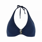 Cyell sale Platinum ess. navy bikinitop met beugel, 42D cup