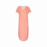 Cyell sale dress short sleeve bright salmon teddy touch