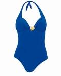 Rosa Faia, helder blauwpaars halterbadpak 44 C cup