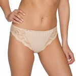 Madison Prima Donna, rioslip met kant in caffe latte