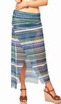 Sedna Tuktu bijpassende skirt in zigzagprint