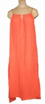 Reyberg, dress Jackie strandjurk big maxi coral maat 46