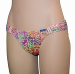 Cyell sale, Sari bijpassende bikinislip laag maat  36