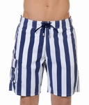 Hom sale Island Resort long beach boxer, streep marine wit