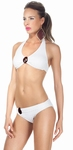 Sedna sale  Marylin halter bikini retro chique wit maat 36